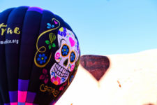 Candy Skull Hot Air Ballooning Gallup NM 1