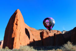 Candy Skull Hot Air Ballooning Gallup NM 2