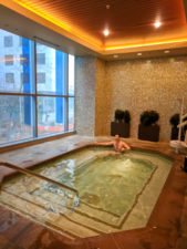 Chris Taylor in Hot Tub at Hyatt Olive 8 Seattle 2