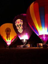 Hot Air Balloons at night Balloon Glow Gallup NM 3
