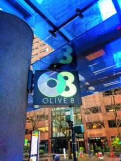 Hyatt Olive 8 Sign Seattle 1