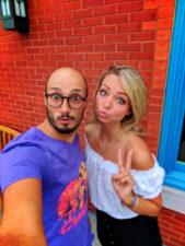 Rob Taylor and Rae Away at TBEX Finger Lakes Corning NY 1