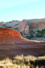 Sandstone Layers while hiking Pyramid Trail Red Rocks State Park Gallup NM 7