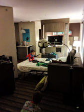 Taylor Family in King Suite at Hyatt House Seattle 2