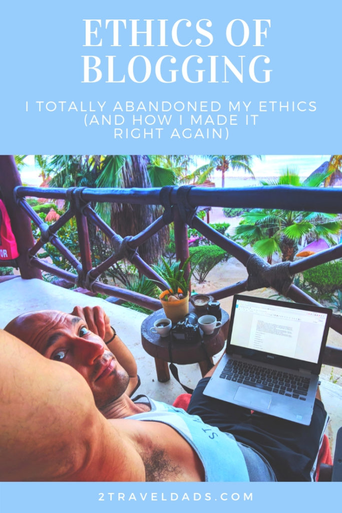 The ethics of blogging are just like the ethics of being a good human. Read about times blogging ethics were compromised and how they were rectified.
