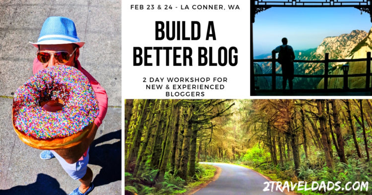 Build a Better Blog Workshop announced: February 22-24, La Conner, Washington
