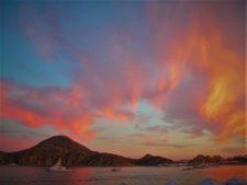 Sunset at Playa Medano Cabo San Lucas