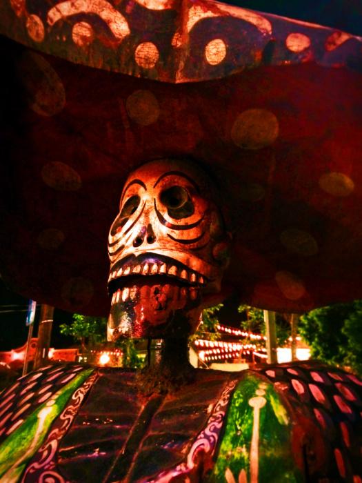 Katrina Statue Dia de los Muertos Cabo San Lucas 1