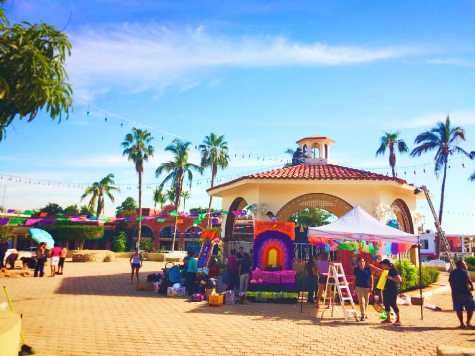 Dia de los Muertos in Plaza Cabo San Lucas BCS Mexico 1