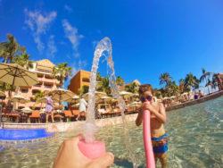 Having pool time at Playa Grande Resort Cabo San Lucas