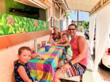 Taylor Family at Cafe de Ciudad Cabo San Lucas 2