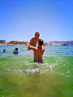 Taylor Family at Cannery Beach Cabo San Lucas 2