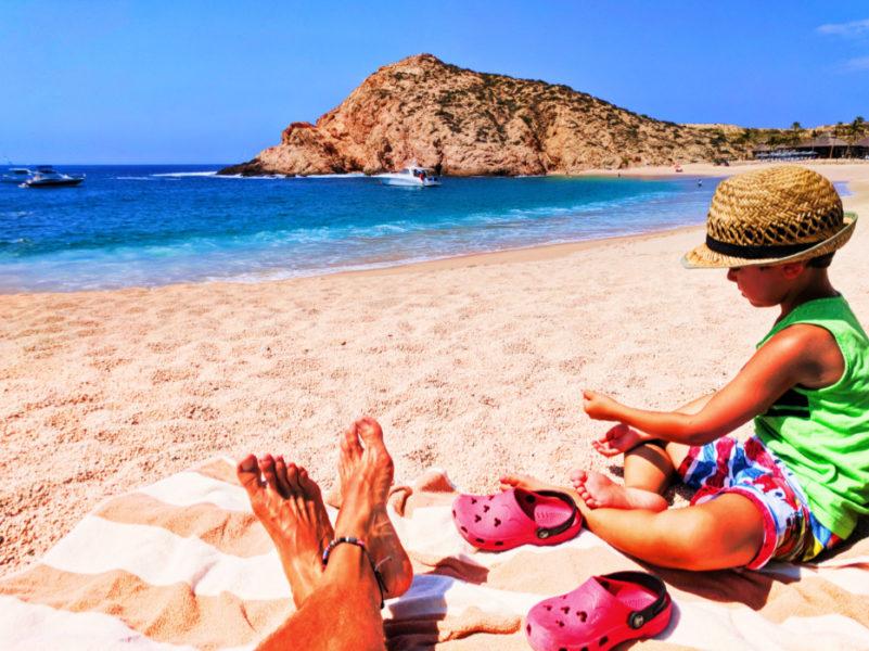 Taylor Family at Playa Santa Maria Cabo San Lucas Mexico 4