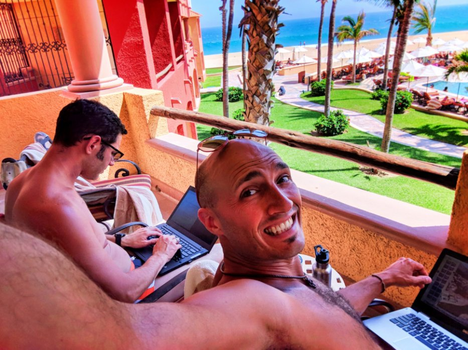 Taylor Family blogging at Playa Grande Resort Cabo San Lucas 1