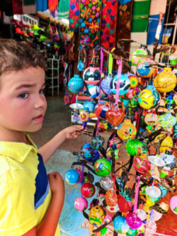 Taylor Family shopping for souvenirs in Marina Cabo San Lucas 4