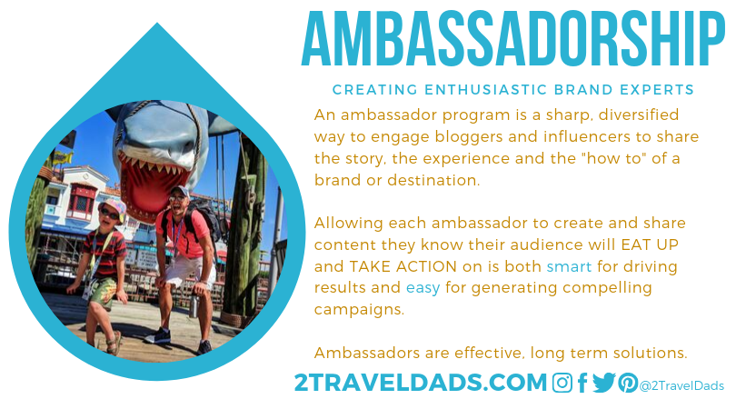 2TravelDads Ambassadorship Card