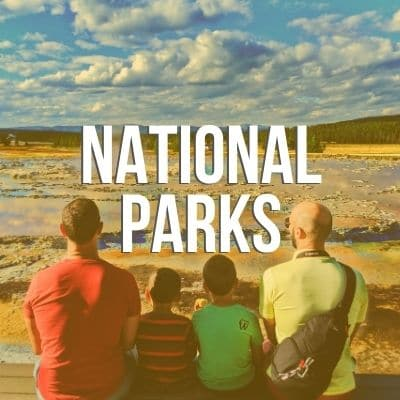 Homepage Category Grid National Parks