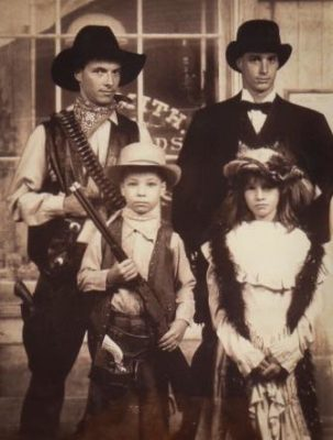 Old West Family Photo, 1980s - courtesy of Michael Lowrimore