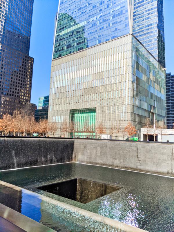 9 11 Memorial Fountains Lower Manhattan New York City 1