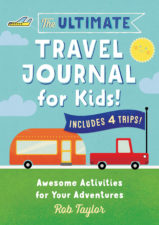 The Ultimate Travel Journal for Kids is Travel Channel's number 1 pick for travel gifts for kids. With activities, journal prompts and pages to keep young minds active, it's more than just another activity book. #travel #familytravel #education