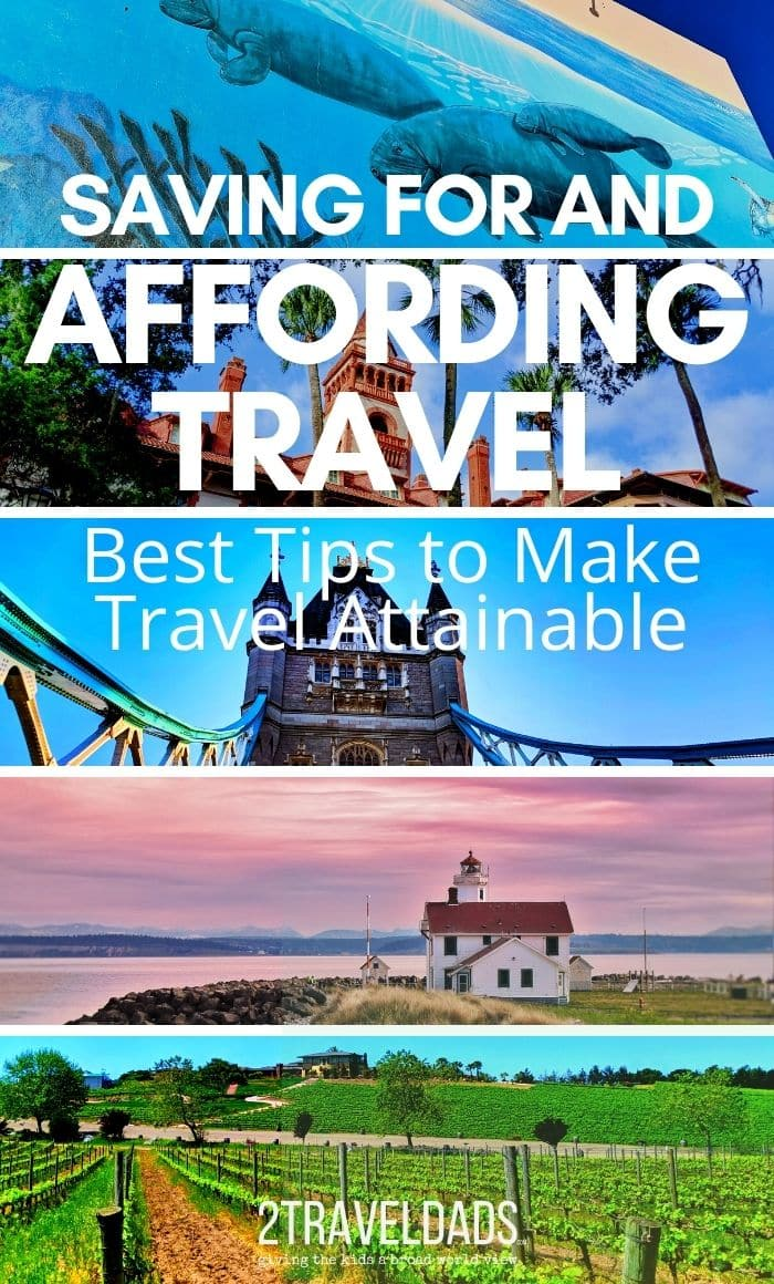 Affording Travel is more than working full time, but starts with saving and budgeting. Actionable tips to save and plan travel, making it a part of your everyday life.