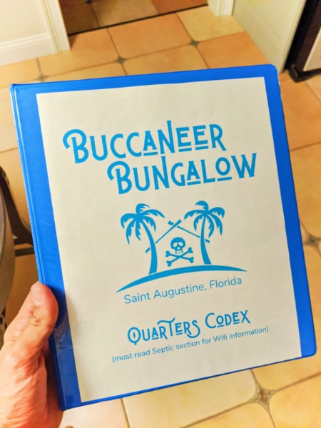 AirBNB House Rules at Buccaneer Bungalow Vacation Rental 2020 1