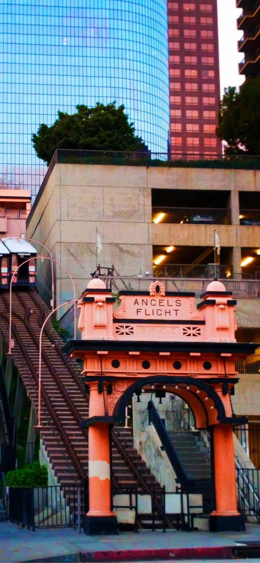 Angels Flight Log Angeles California Coast Road Trip