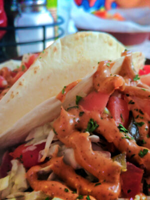 Ani Tuna Tacos at Mango Mangos St Augustine Beach FL 1