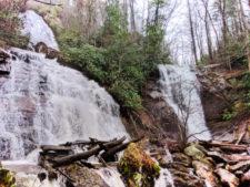 Anna Ruby Falls near Alpine Helen North Georgia 1