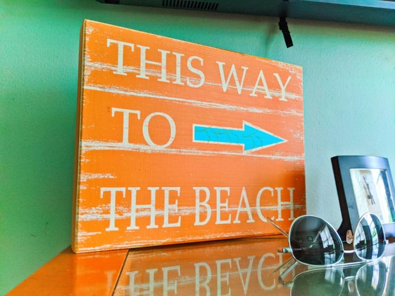 Artwork at Buccaneer Bungalow Butler Beach Saint Augustine Florida Vacation Rental 3