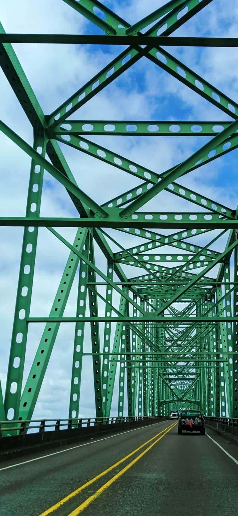 Astoria Bridge Oregon Coast Road Trip