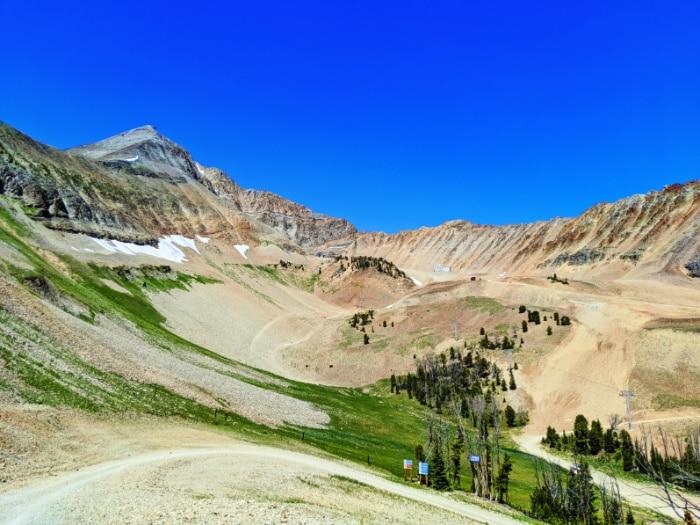 Avalanche Bowl on Lone Mountain Big Sky Resort Montana 1