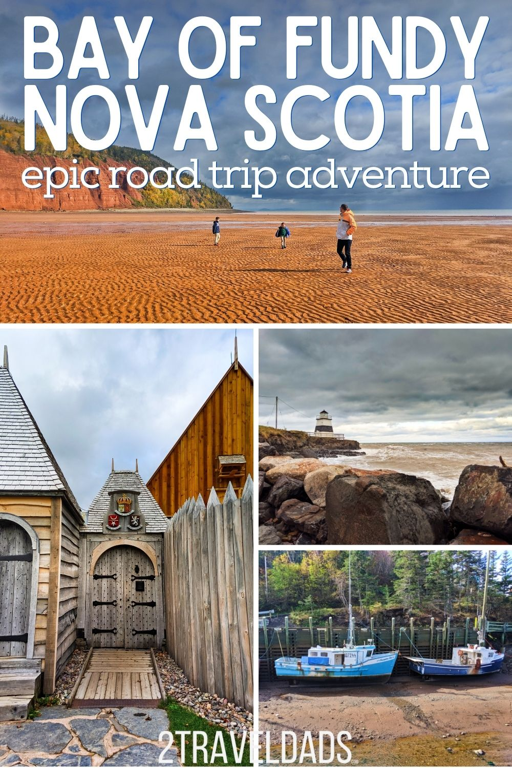 The northern shore of Nova Scotia is one of the most beautiful places we've traveled and it's perfect for a Nova Scotia road trip. The Bay of Fundy is home to both the most aggressive tides on earth and some of the epic sights. And the top pick for a lobster meal that you'd never expect...