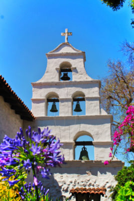 Bell Tower of Mission San Diego de Alcala San Diego California 7
