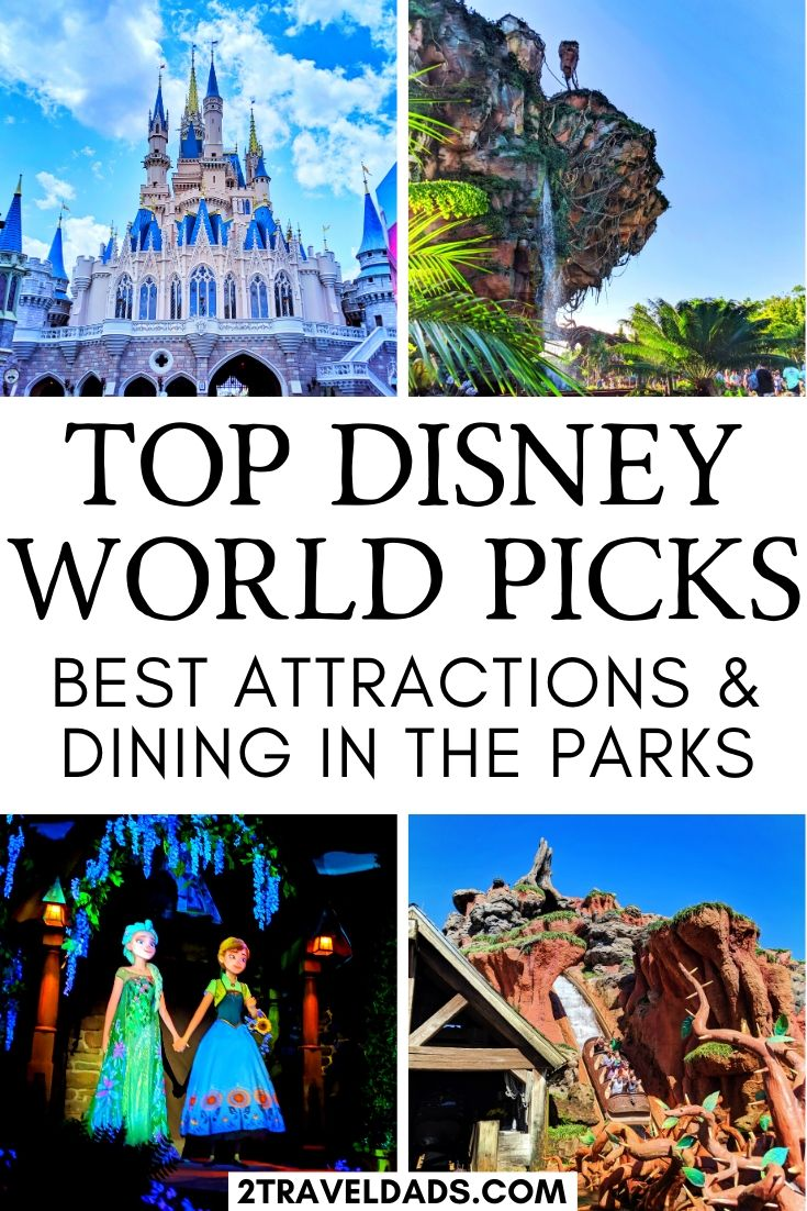 The three best attractions in each Walt Disney World Park and #1 dining pick for each park too. We talk about the four parks and which attractions are the most worthwhile or that you just can't miss. We also talk about a lot of dining options, including picking our #1 restaurant for sit-down dining in each park. Hint: we couldn't pick just one in Disney's Animal Kingdom.