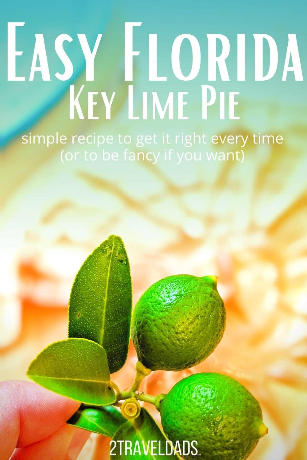 This is the easiest key lime pie recipe around, with easy, delicious options to make it even better than a basic one. After trying many key lime pies and making several, this recipe is the best for a new baker or somebody who's easily distracted.