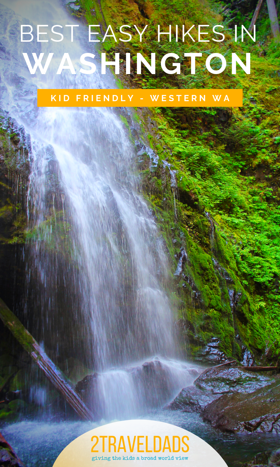 Easy hiking trails around Western Washington. Kid friendly hikes in Olympic National Park, the Columbia Gorge and even around Seattle. #hiking #nature #Seattle #PacificNorthwest
