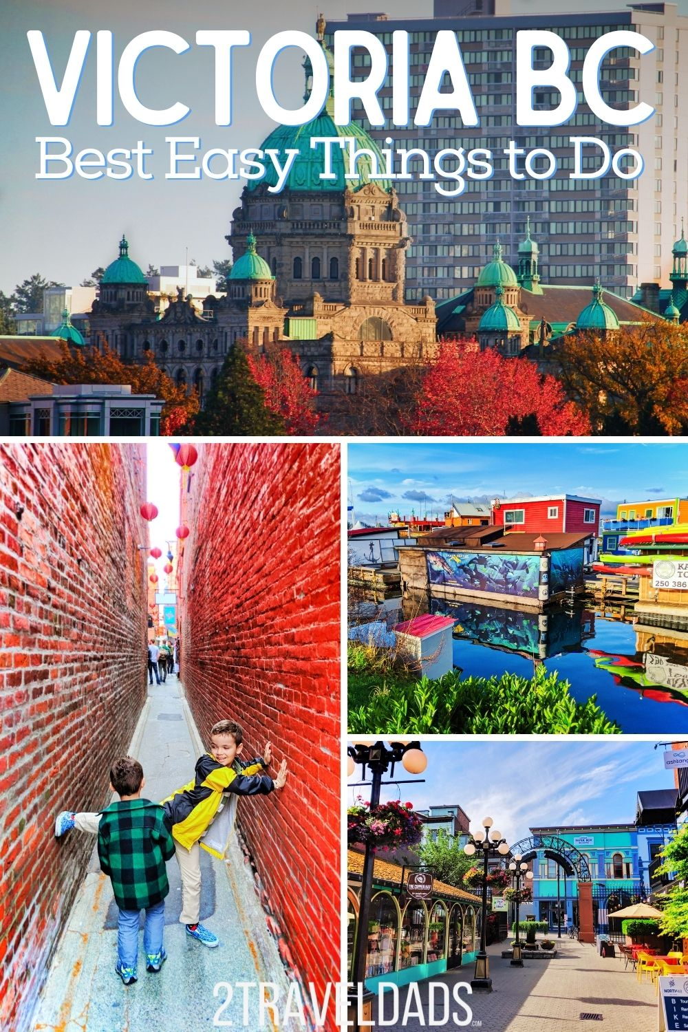 Victoria BC is a beautiful city to explore and the best things to do are mostly very near each other. From whale watching to touring museums, everything you need to know for enjoying a visit to Victoria on Vancouver Island.