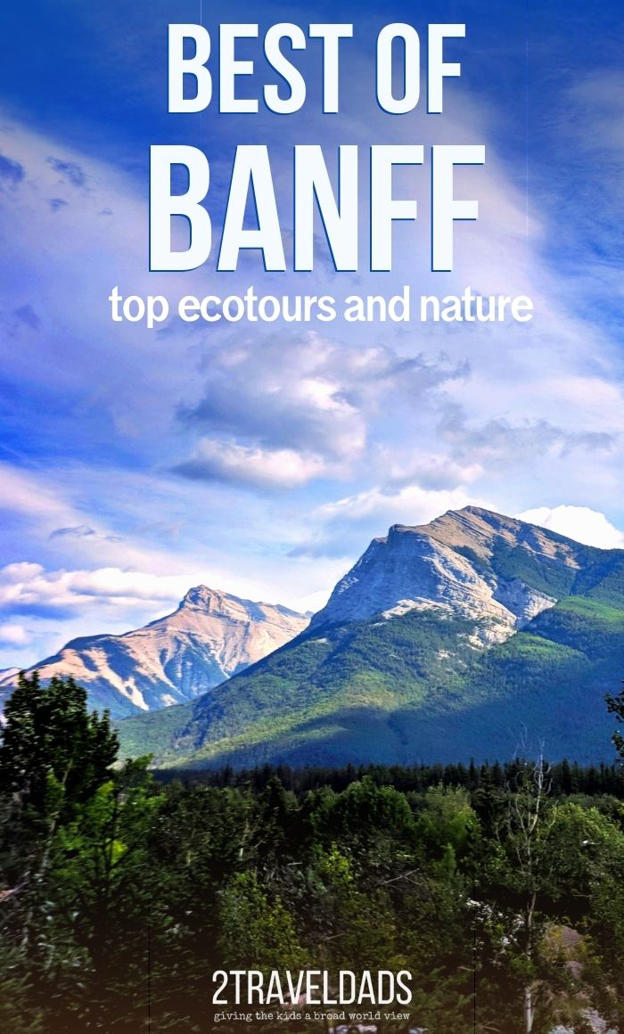Ecotours in Banff and the nearby town of Canmore give the best views and activities in Banff National Park. Guided hiking, rafting and rock climbing provide unforgettable outdoor experiences in Alberta, Canada.