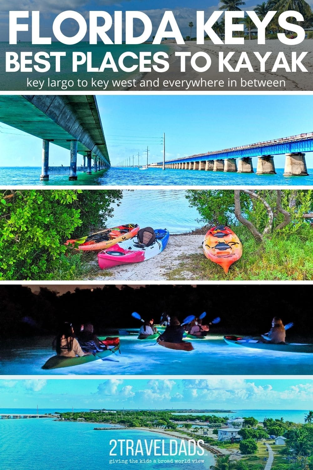 The best places to kayak in the Florida Keys range from Key West to the backcountry of the smaller keys. Kayaking routes and guided tours in the Florida Keys to make a road trip on the Overseas Highway even better.
