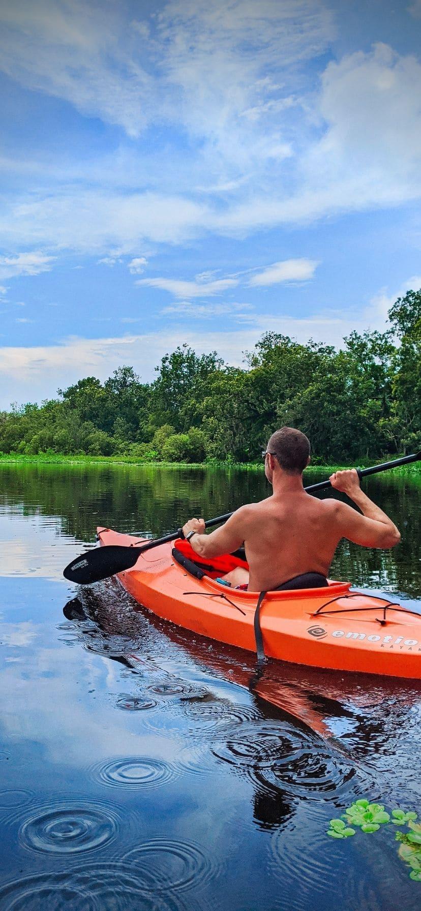 Best Florida Springs for Manatees Kayaking Blue Spring State Park