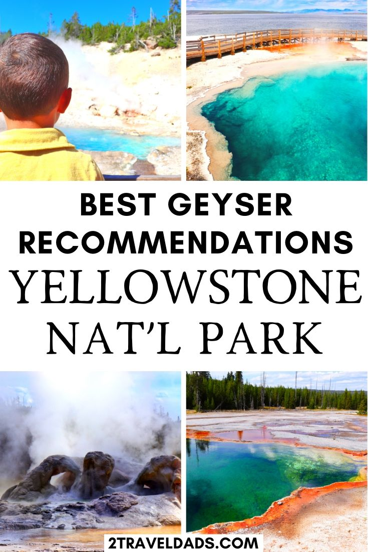 Best geyser recommendations in Yellowstone National Park. Must-see hot springs and geysers that most people miss when they visit Yellowstone. #Wyoming #NationalPark #Yelllowstone #hiking