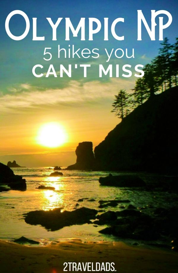 These are the best year round hikes in Olympic National Park that you can do in any weather! Beach and rainforest hiking, views and quiet forests. #hiking #washington #olympicnationalpark #outdoors