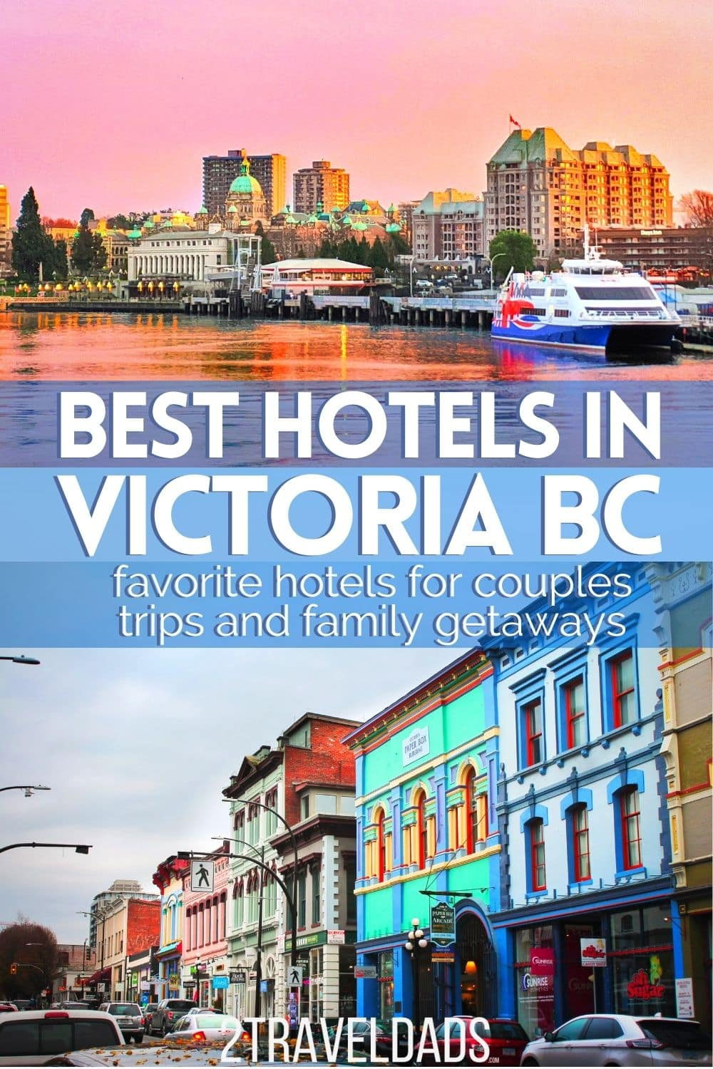 After 8 trips to Victoria BC, we know where to stay.We review our favorite hotels in Victoria, BC, from budget friendly to top tier. We suggest some unique accommodations as well as trusted travel brands with hotels in Victoria. We have some really great recommendations!