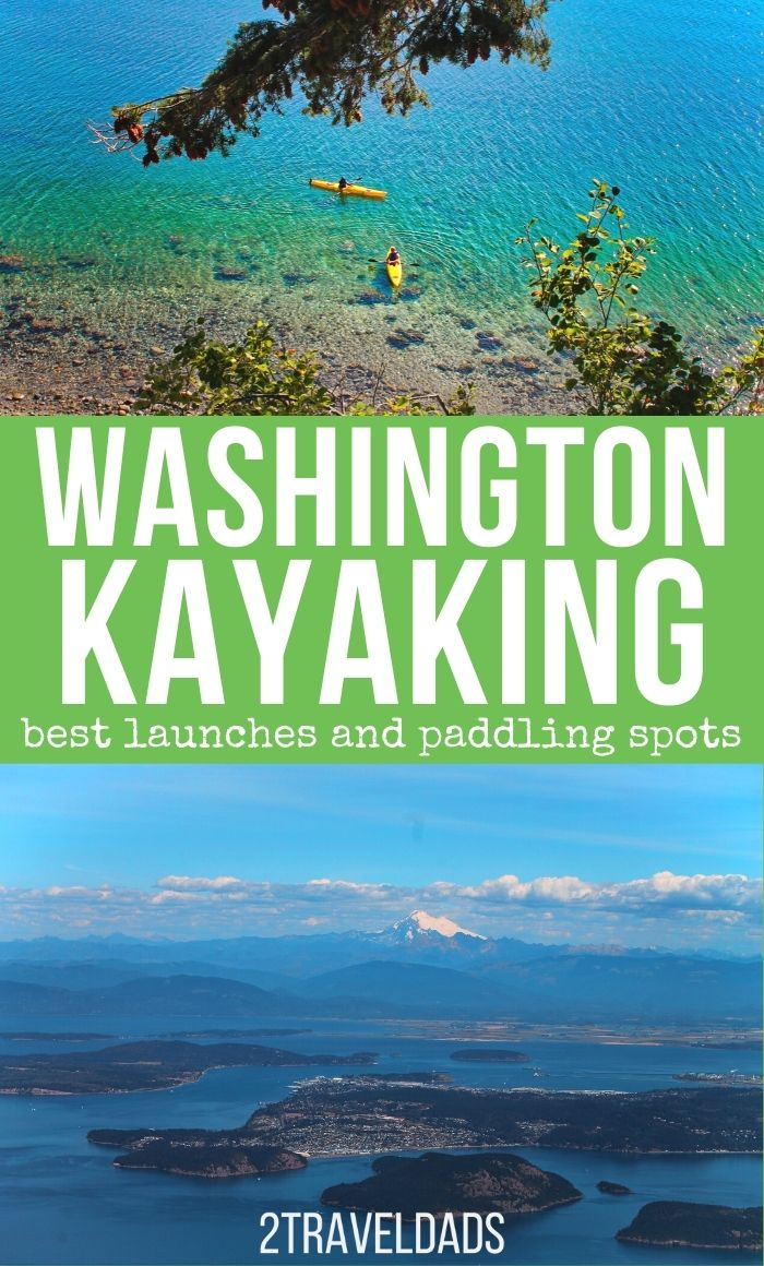Kayaking in Washington is a must. Pacific Northwest kayaking destinations, whether on a mountain lake or the open water, are beautiful and good for all skill levels. Top picks for kayaking on the Olympic Peninsula, San Juan Islands and more.