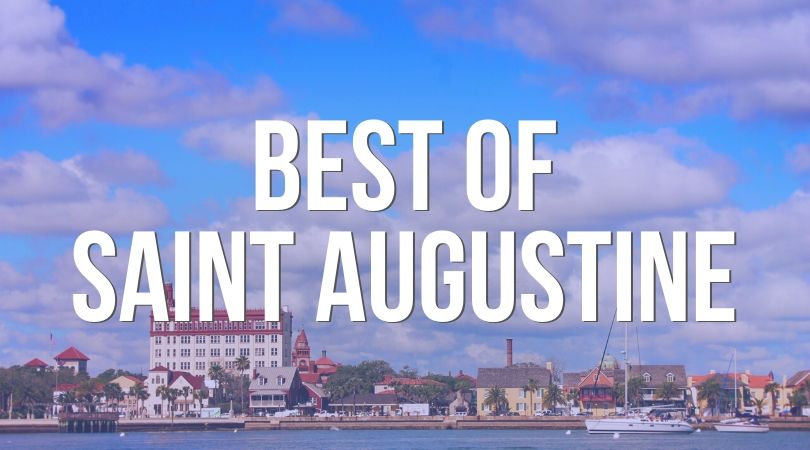 Everything awesome to do in the downtown Ancient City core of Saint Augustine, Florida. From ghost tours to food you MUST EAT!