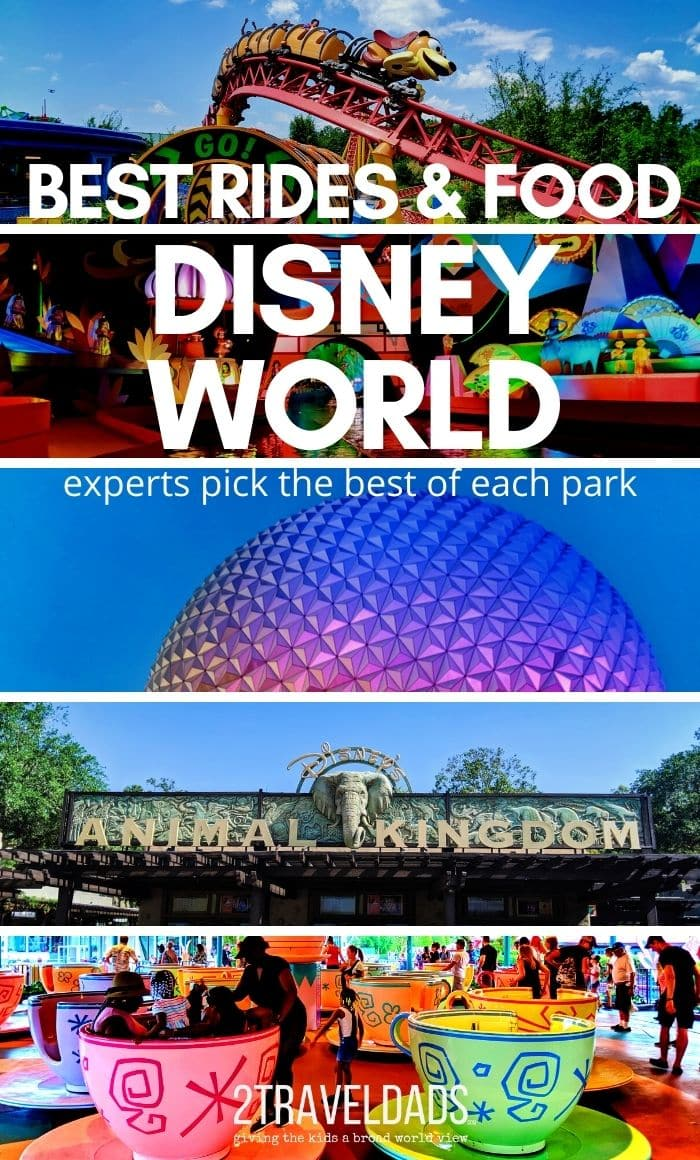 The best attractions in each Walt Disney World Park and top dining pick for each park too. The most worthwhile or that you just can't miss, rides and restaurants to plan for at Disney World.