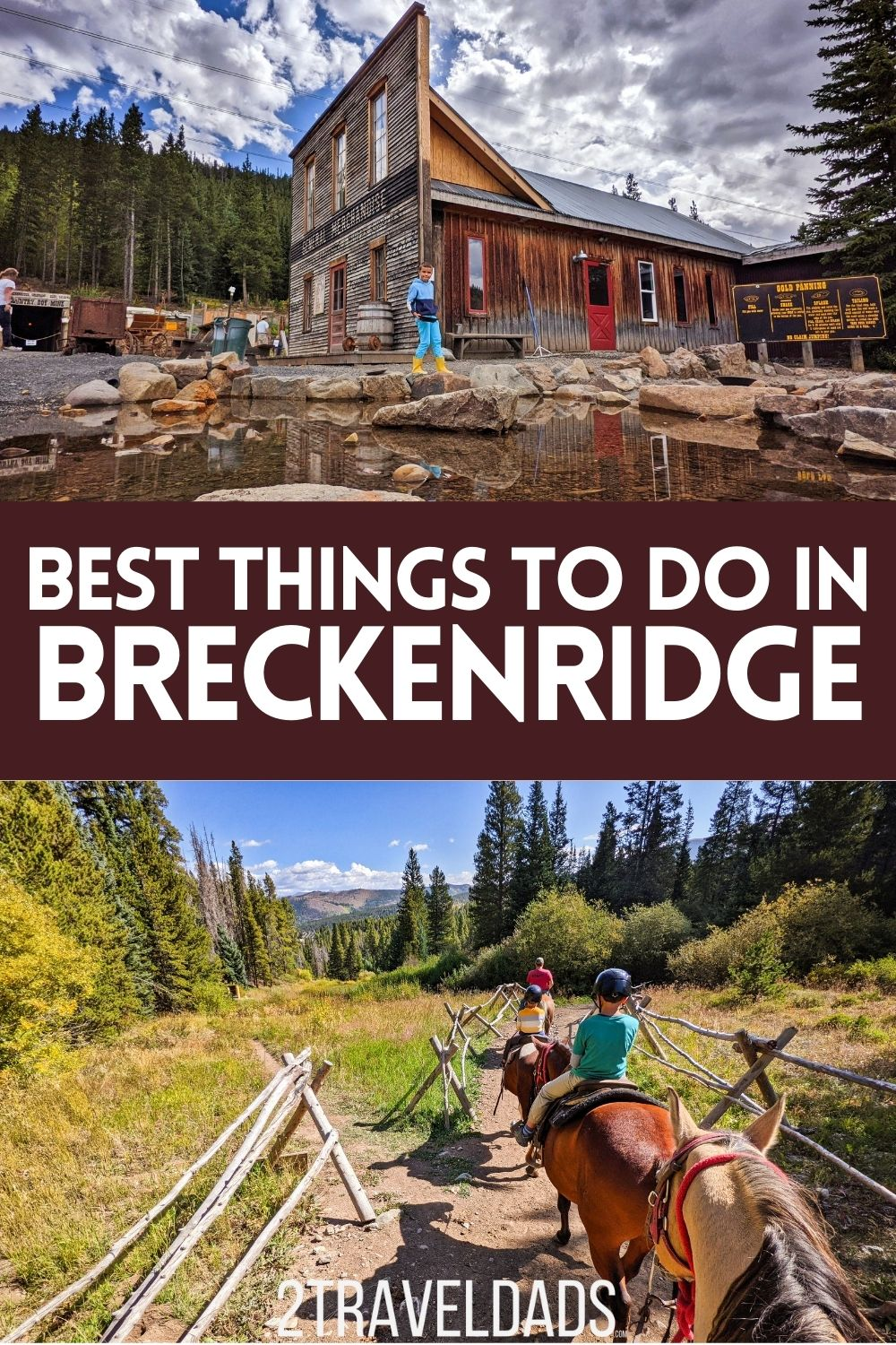 There are things to do in Breckenridge all year, not just during ski season. From epic hiking to a beautiful historic downtown, mine country to horseback riding, there are so many things to do for any season or type of traveler.