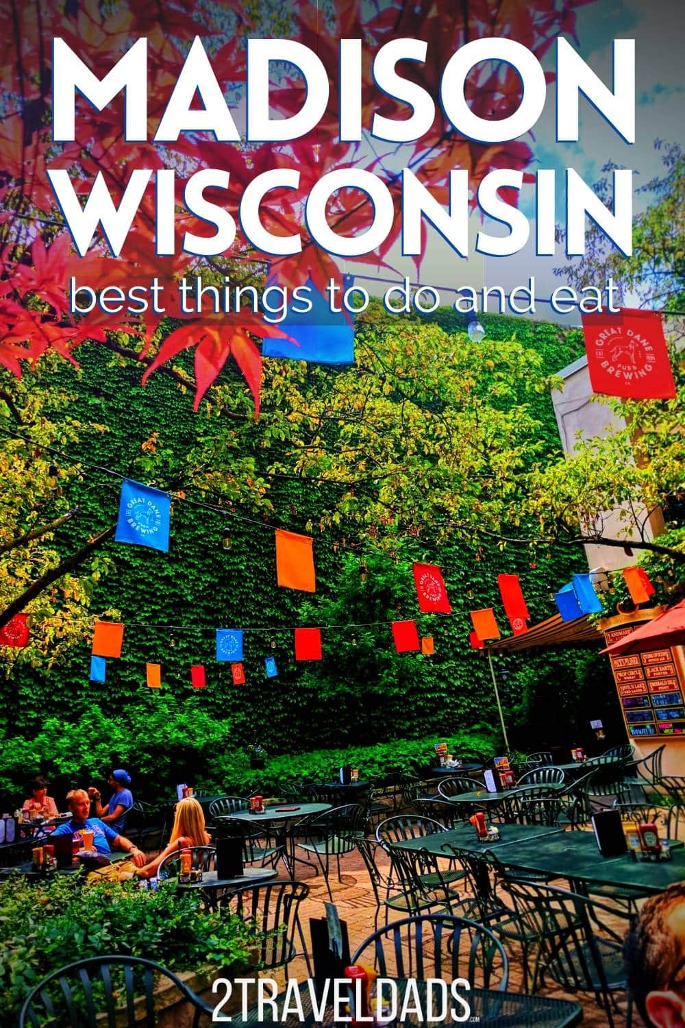 The best things to do in Madison, Wisconsin in summer, including downtown, museums and nature. Recommendations for where to eat, best beers and fun things to do with kids in Madison.