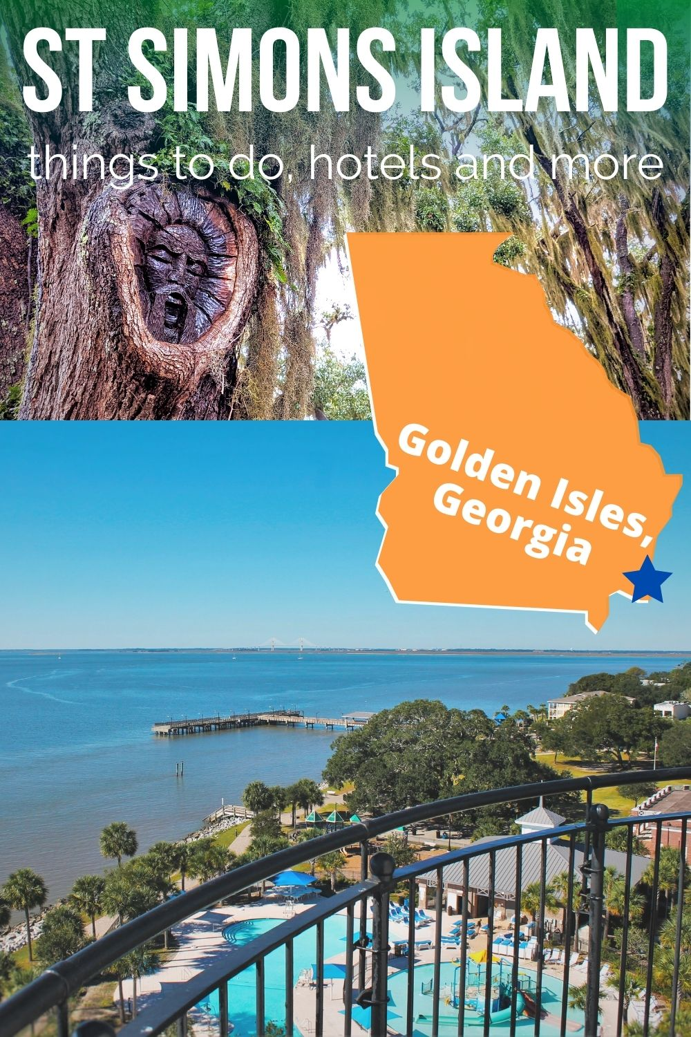 St Simons Island, Georgia is an easy, budget friendly getaway from Jacksonville or Atlanta. With tons of things to do, beautiful beaches and lots of history, it's also a great Georgia Coast road trip stop.